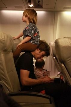 Fly somewhere with kids!