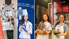 Le Cordon Bleu Bangkok and Paris Alumna Jesselyn, 21 years old, is the youngest Master Chef in Indonesia. She was very brave despite the pressure of this competition. P.S. : The 2 finalists of this MasterChef Indonesia season are former students from Le Cordon Bleu institutes; Jesselyn of Le Cordon Bleu Paris and Nadya of Le Cordon Bleu Sydney! Le Cordon Bleu, 21 Years Old, Season 8, Competition, Interview, Master Chef, Bangkok, Coat, Brave