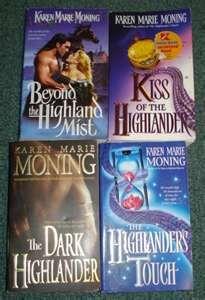 karen moning highlander series in order