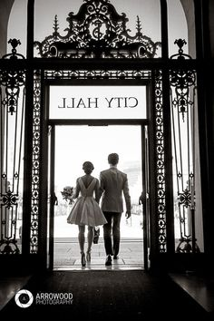 Christine and Tony Elopement at San Francisco City Hall © 2015 Arrowood Photography. http://www.arrowoodphotography.com