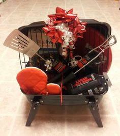 an enchanted imagination: the grill gift basket