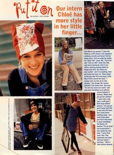 Chloe Sevigny Sassy Magazine intern