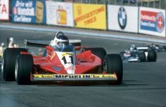 Carlos Reutemann drove the Ferrari 312 T3 to the overall victory at the 1978 United States Grand Prix East at Watkins Glen. (Photo: Autospor...