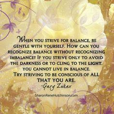 Treasured Sentiments by SharonRene Hutchinson: Balance