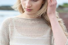 Ravelry: Perkins Cove Pullover pattern by Pam Allen