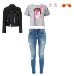 """""""Untitled #164"""" by selise-miles on Polyvore featuring Miss Selfridge, Ted Baker, Tiffany & Co., Ray-Ban and French Connection"""