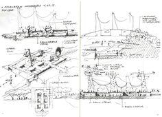 Concept sketches Sea World Masterplan