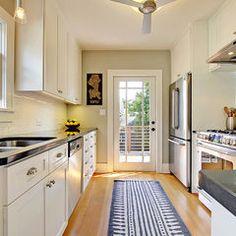 Modern Kitchen By Katie Hastings Design LLC · Small Galley KitchensGalley  Kitchen ...