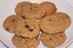 Chocolate Chip Cookies - made with spelt flour and coconut sugar