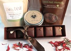 Guide to the Best Dairy-Free Valentine Chocolate: Over 20 Chocolatiers with Vegan, Gluten-Free, Food Allergy-Friendly, Organic, Fair Trade and more! Pictured: Nicobella Truffles Gift