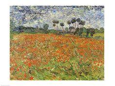 Van Gogh - Field of Poppies