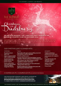 Christmas 2016 at The Dudsbury Country Club