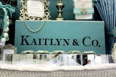 Tiffany Sweet Sixteen by The Candy Brigade | Candy Buffets | Sweet Sixteen Parties | Tiffany & Co.