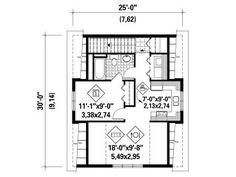 2nd Floor Plan, 072G-0030