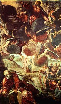 Ascensión de Cristo, 1576-1581 - Tintoretto
