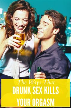 Getting drunk doesn't lead to sexy funtimes. It leads to sex that doesn't make you feel things. Get Educated, Getting Drunk, Sex And Love, Lovey Dovey, Let Them Talk, Relationship Advice, Knowledge, Feelings, Female