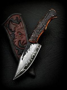 Jabalí | CAS Knives - cuchillos artesanales it's so beautiful!!!