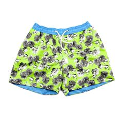 These stylish swim shorts are named after Sin City, 'Las Vegas.' These graphic printed trunks feature the stunning vintage-inspired floral neon print Tropical Colors, Floral Shorts, Ss 15, Swim Shorts, Workout Shorts, Quick Dry, Vintage Inspired, Digital Prints, Las Vegas
