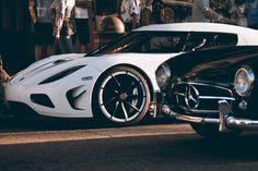 Koenigsegg Agera R x 300 SL Benz