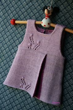 wendy by al-abrigo. malabrigo Lace in Orchid colorway. Adorable!!!