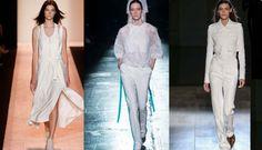 Spring Summer 2015   All white trends#springsummer2015 #springsummer2015trends