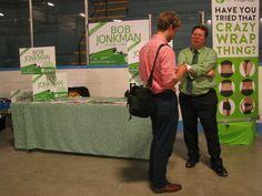 Bob was interviewed at the New Hamburg Fall Fair.