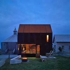 The Enough house is a stunning corten steel clad home by Brian Mackay-Lyons…