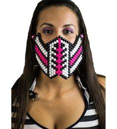 Reptile Pink Kandi Mask