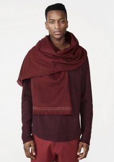 Bruce Sweater - Dk Red