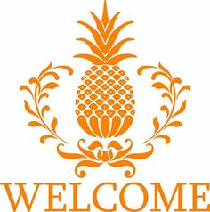 The pineapple is a symbol of hospitality in the South