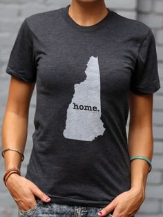 New Hampshire Home T Shirt | The Home T | Bourbon & Boots