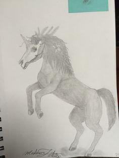 Not quite a unicorn-by:Madison Latella