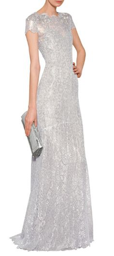Link is to a great website with way way to expensive gowns!!!  But I love them.  Marchesa silver evening gown