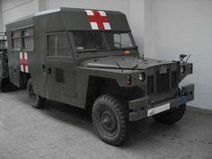 Land Rover Ligero ambulancia