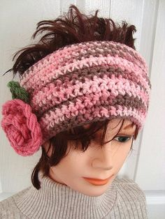 CROCHET pattern HEADBAND Hat Headband pattern baby by Hectanooga