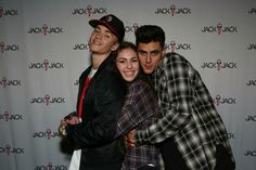 Meet and greet Colby Brock, Sam And Colby, G Photos, Couple Photos, Meet And Greet Poses, Omaha Squad, Jack Gilinsky, When I See You, Jack And Jack