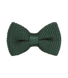 Reiss knitted bow tie