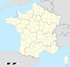 Mappa di localizzazione: Francia