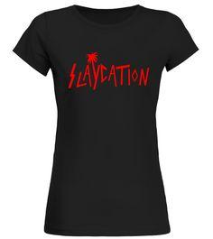 SLAYCATION Palm Tree T-Shirt beach body t shirt,body beach shirt,fake beach body shirt,beach body bikini t shirt,