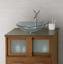 With Gl Tile Only Ronbow Minevra To Bathroom Vanity Cinnamon Grand Green Techstone
