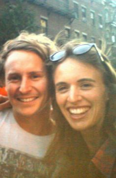 Ben Howard with India Bourne...
