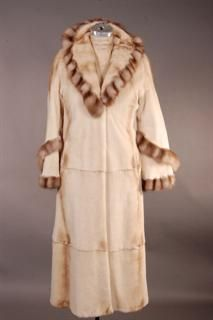 Wonderful Whiskey Light Weight and Warm Sheared Full Length Mink ...