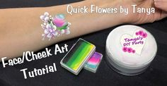 Face Painting Tutorial Quick Flowers