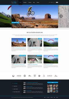 Hobby WordPress Theme by ~ait-themes on deviantART #webdesign