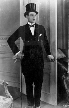 Rudolph Valentino   A classic. Valentino was the hearthrob du jour for many, many years.
