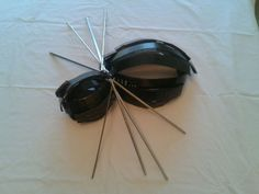 Spider made from old printer parts. Printer Ink Cartridges, Look What I Made, Toner Cartridge, Spider, Spiders