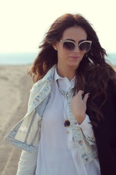lovehandmade fashion blog: WOMENS RETRO OVERSIZE ROUND CAT EYE FASHION SUNGLASSES 9179