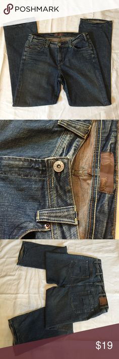Men's jeans Yanuk, size 34, made in USA, 98% Cotton/2% Spandex, new condition Yanuk Jeans Flare & Wide Leg