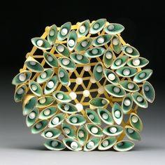 Jacqueline Ryan: Hexagonal Brooch