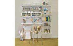 Organized Living | Home storage solutions for organized hobby and craft rooms